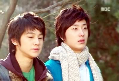 Jung Il woo and Kim 2007.2