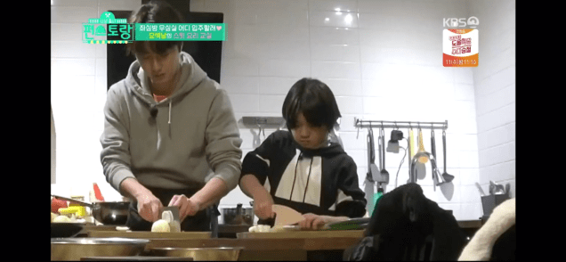 Jung Il woo and Kim Kang-hoon in Convenience Store Restaurant Episode 19. 96