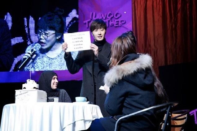2014 11 22 Jung II-woo in his Fourth Korean Fan Meet. Starcast 16