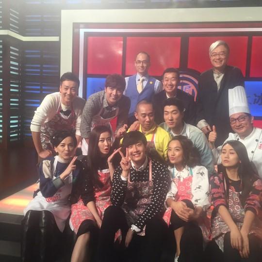 2015 4 8 Jung Il-woo at China's Jiangsu Satellite TV Star Chef 22