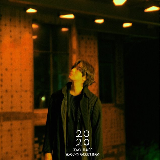 Jung Il woo making his calendar 2020. Cr. Jung Il woo. 1