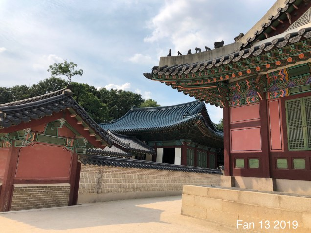 Changdeokgung Palace. Photos by Fan 13, www.jungilwoodelights.com. 2019 8