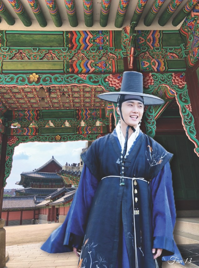 Jung Il woo at Changdeokgung. Edited by Fan 13. 2