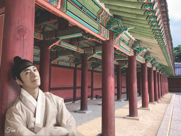 Jung Il Woo at Changdeokgung. Edited by Fan 13. 1ai