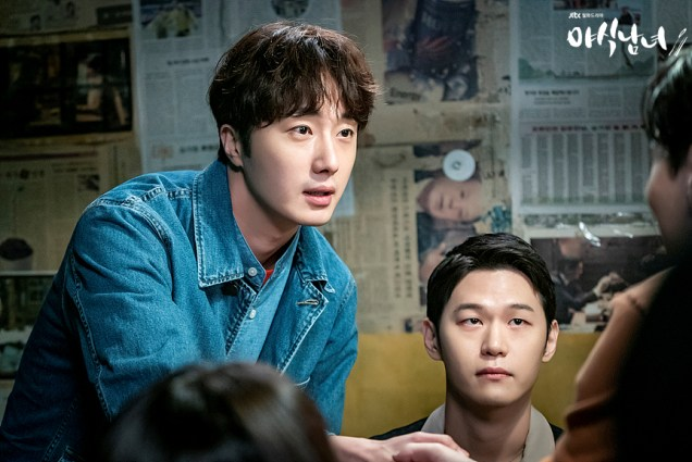 Jung Il woo in Sweet Munchies Episode 3. Stills from JTBC. 3