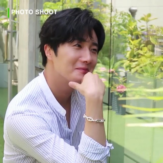 2020 6 15 Jung Il woo In Behind the Scenes pf a Photo Shoot. 10
