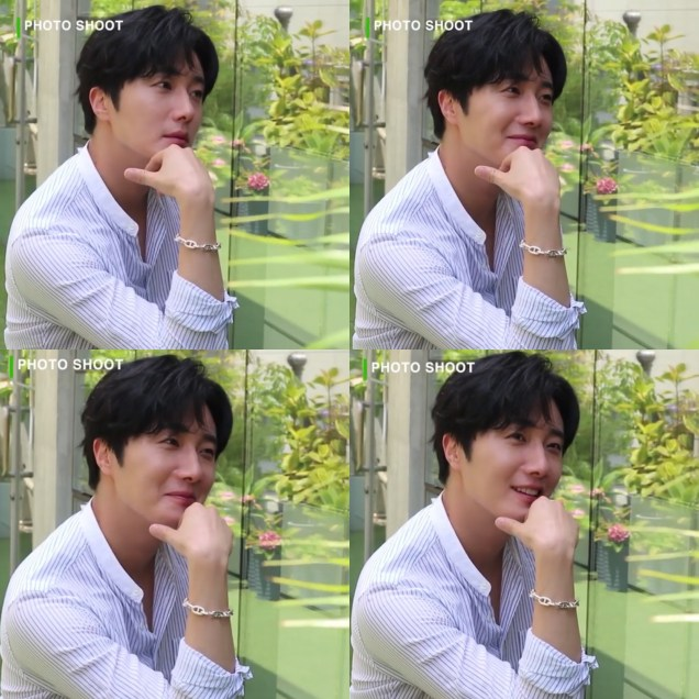 2020 6 15 Jung Il woo In Behind the Scenes pf a Photo Shoot. 7