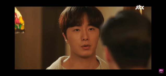 Jung Il woo in Sweet Munchies Episode 12. Cr. JTBC Screen Captures by Fan 13. 9