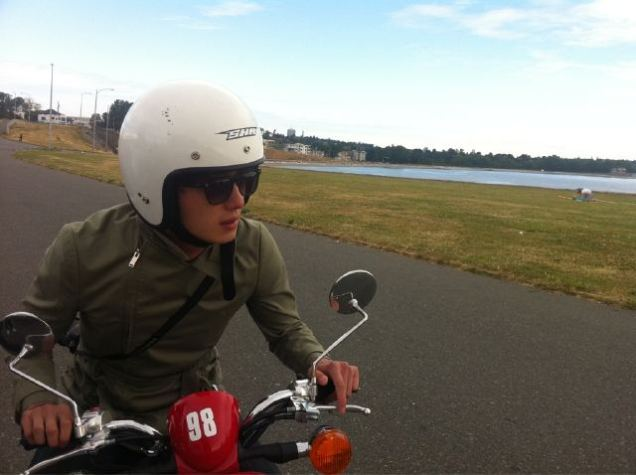 2011 7 OMT Day 6 Victoria Scooter Drive 2