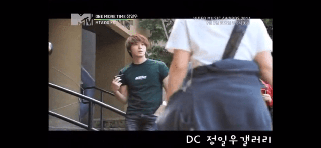 2011 Jung Il woo in One More Time. Episode 3. Screen Capture by Fan 13. 19