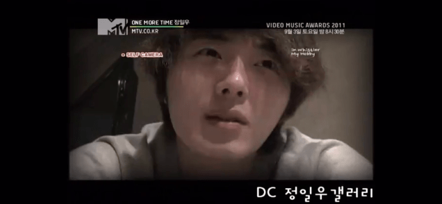 2011 Jung Il woo in One More Time. Episode 3. Screen Capture by Fan 13. 33
