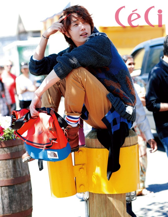 2011 Jung Il woo in Ceci Magazine. 2