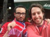 Osasunistas en Oviedo