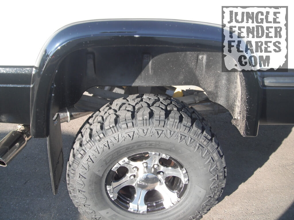 Josh\' Painted rear Dodge Ram Fender Flare 1998