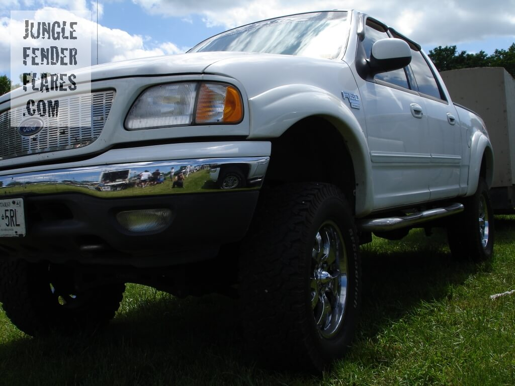 2001 Ford F150 FX4 4 door fender flares