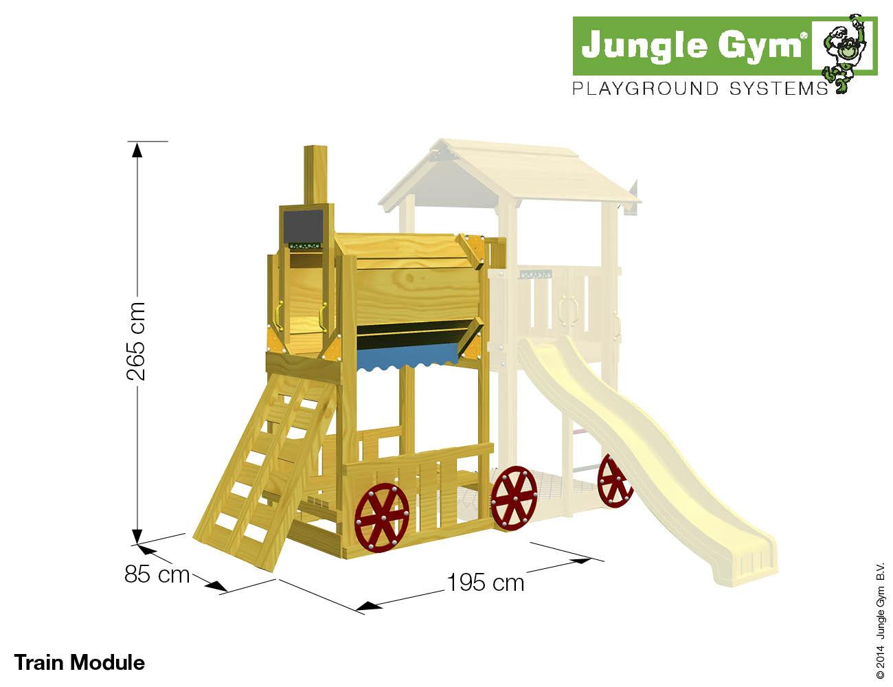 Jungle Gym Cubby & Train Module Offer