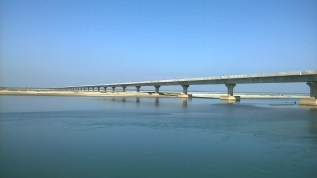 Longest Bridges India, River Brahmaputra Upper Assam, River Lohit Arunachal And Assam, Sadiya Steamer Ghat Assam