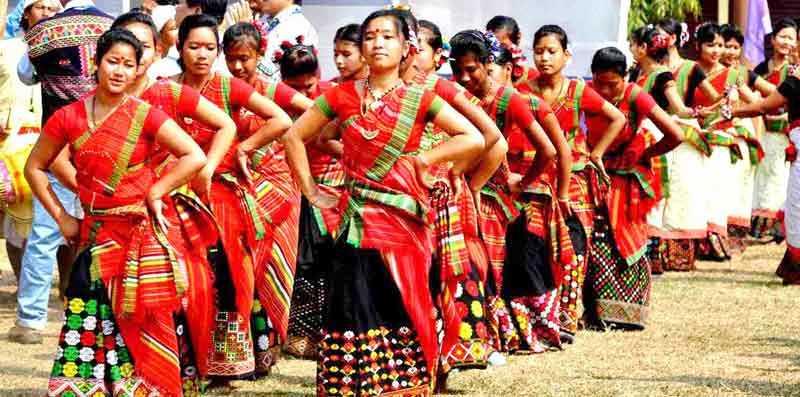 Girl Wallpaper Longitudinal Ali Ai Ligang Festival In Assam Art Amp Culture Nelive