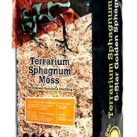 Galapagos Golden sphagnum moss 150 gm brick available in Canada
