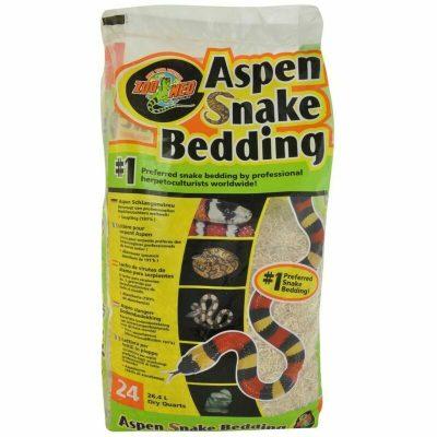 Zoo Med Aspen Snake Bedding 26 qt