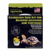 KOMODO DANDELION SEED KIT FOR BEARDED DRAGONS AND TORTOISES