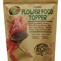 zoo med lizard flower food topper 1.4oz bag