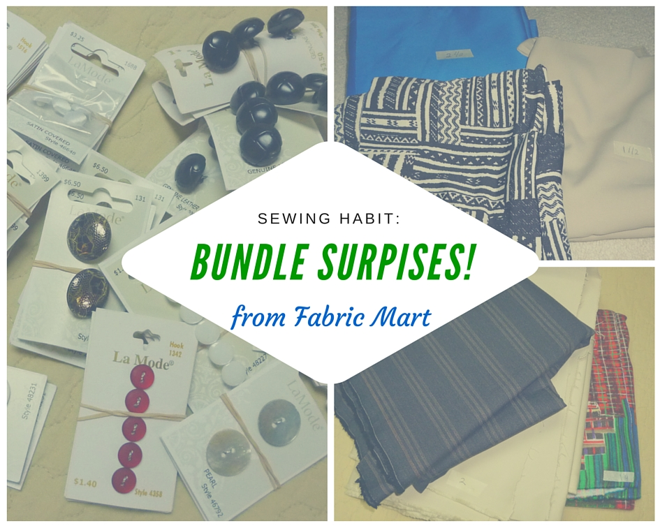 Material Monday: Stocking the stash with Fabric Mart bundles