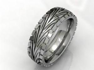tire tread wedding ring | Jungleland Vintage