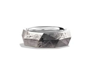 David Yurman Band Ring with Meteorite