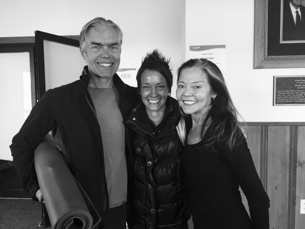 What a lovely weekend I had assisting Richard's workshops with Mary at the Yoga Journal Conference in Estes Park 2016! Photo by Waylon Lewis & Elephant Journal