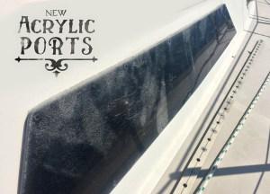 New Acrylic Ports