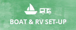 Boat and RV Set-up