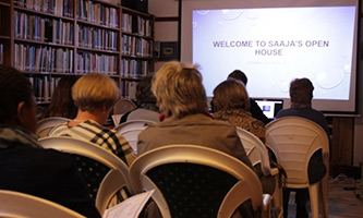 Eight SAAJA members (one via Skype) attended (and presented), as well as four candidates.