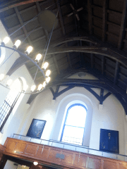 Yale Dining hall ceiling