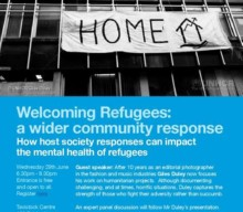 29 June 2016: Refugee Week Event: Welcoming refugees: a wider community response