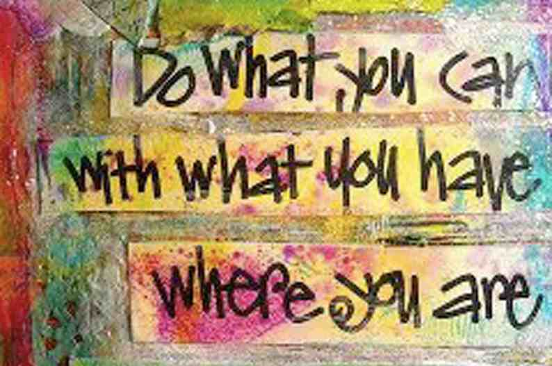 do what you can fb