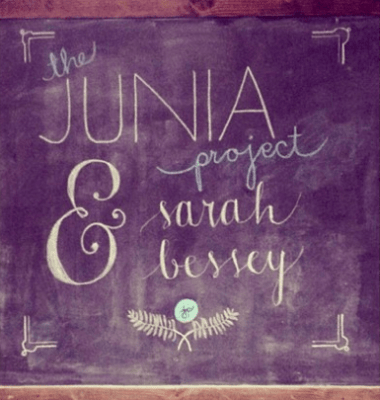 JP and Sarah Bessey Chalkboard