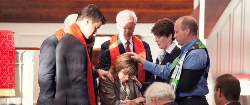 Ordination of Kim Priddy, First Baptist Church, Greensboro, North Carolina. Credit: Baptist Women in Ministry FB Page