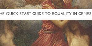 The Quick Start Guide to Equality in Genesis