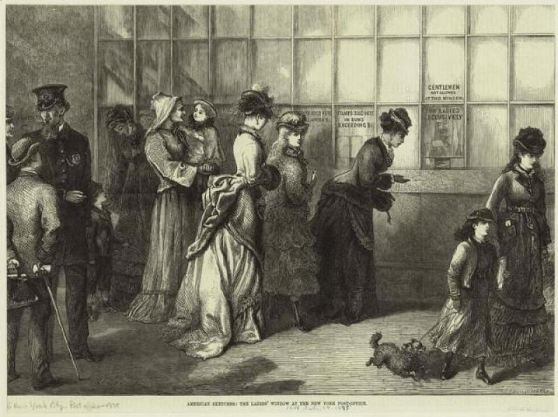 Women at the Post Office