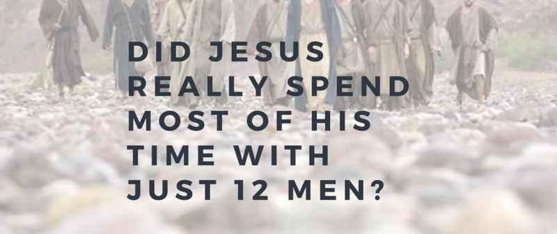 Jesus and twelve disciples