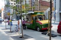Typischer Verkaufswagen in Ottawa - stehen hier an jeder Ecke