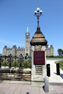 Auf dem Weg zum Parliament Hill