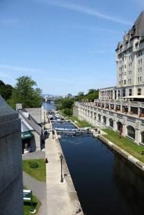 Schleusen am Rideau Canal