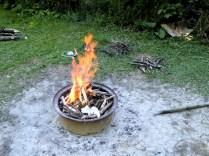 Feuer machen ...