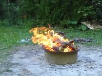 ... das ordentlich brennt ...