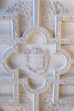 Deckenmotiv - Sir Henry Pellats Wappen