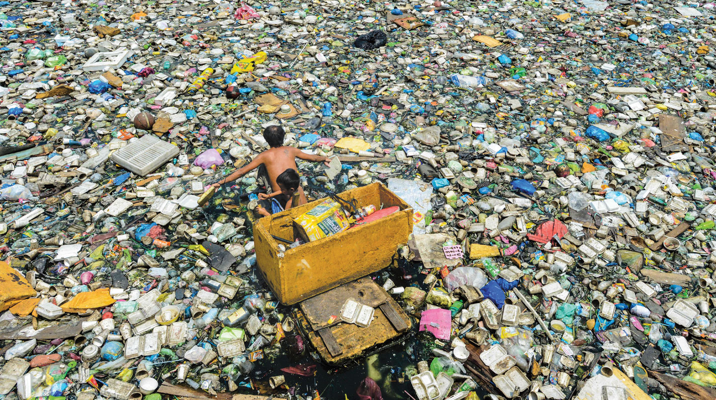 How Plastic Is Trashing The Planet