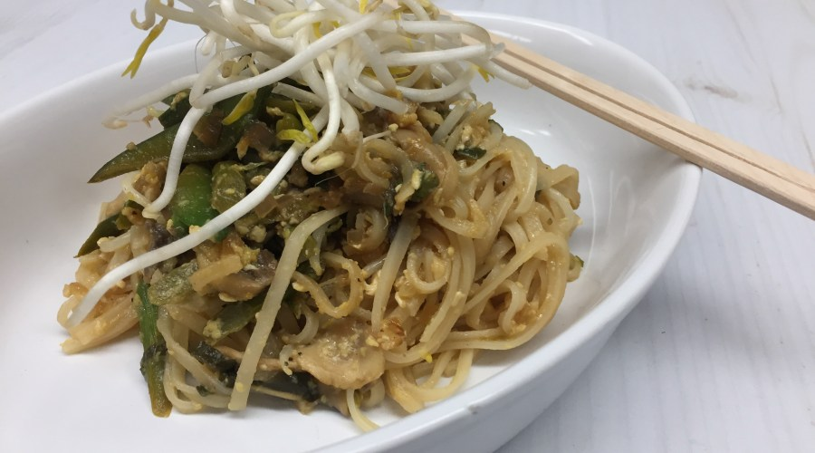 Celebrate the Spring Season with Spring Vegetable Pad Thai