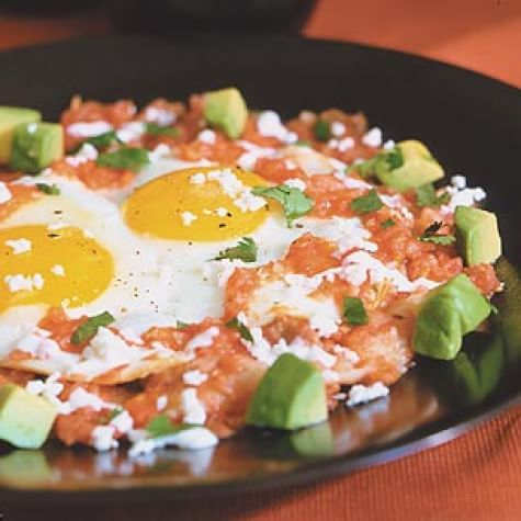 Huevos Ranchero with Fresh Pico